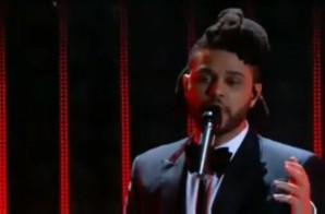 """The Weeknd Performs """"Can't Feel My Face"""" & """"In The Night"""" At 58th Annual Grammy Awards! (Video)"""