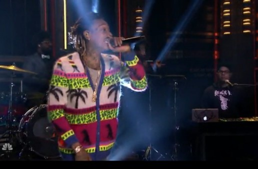 "Wiz Khalifa Performs ""Bake Sale"" On The Tonight Show! (Video)"