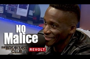 """No Malice Chops It Up With The Breakfast Club About His Documentary """"The End Of Malice"""" (Video)"""
