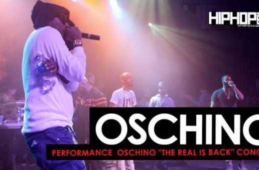 """Oschino Performs at his """"The Real is Back"""" Concert (HHS1987 Exclusive)"""