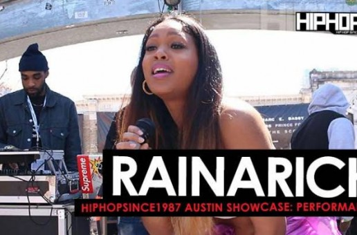 "RainaRich Performs ""Freekin' You"", ""Ocean"" & ""All Night"" At The 2016 Austin HHS1987 Showcase (Video)"