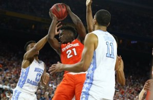 Final Four:  North Carolina Leads Syracuse (39-28) at the Half