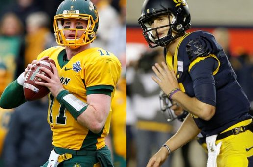The Los Angeles Rams Selected Goff #1; The Philadelphia Eagles Selected Carson Wentz #2