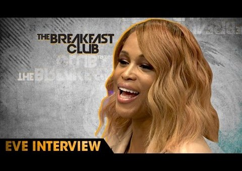 Eve Talks Barbershop 3, DMX Linking Her With Ruff Ryders And More W/ The Breakfast Club (Video)