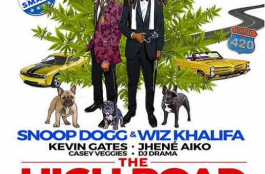 """Wiz Khalifa & Snoop Dogg Hit """"The High Road"""" This Summer On A New Tour!"""