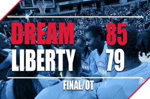 The Atlanta Dream Are Currently (3-1) After A Big Overtime Victory Against The New York Liberty