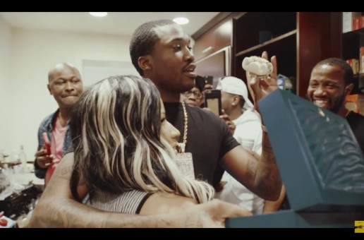 Nicki Minaj Surprises Meek Mill With New Rolex As He Celebrates His 29th Birthday (Video)