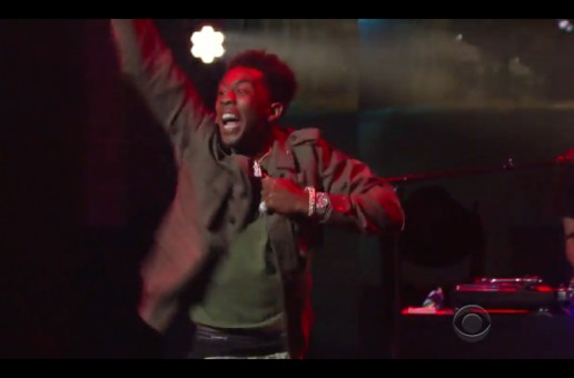 """Desiigner Lights Up The Stage As He Performs """"Panda"""" On The Late Show (Video)"""