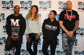 "Ameriie Visits Power 105.1's ""The Breakfast Club"""
