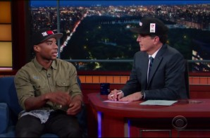 Stephen Colbert Interviews Charlemagne The God On The Late Show (Video)