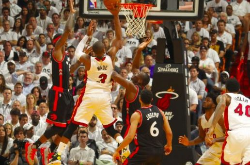 The Heat Is On: Dwyane Wade Drops 30 Points To Tie The Series (2-2) Against the Toronto Raptors (Video)