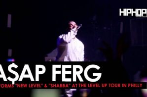 "A$AP Ferg Performs ""New Level"" and ""Shabba"" at The Level Up Tour in Philly"