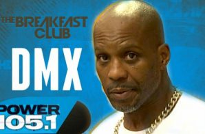 "DMX Talks Squashing Drake Beef & More W/ The Breakfast Club (Video) + New Song ""Blood Red"""