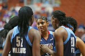 The (6-1) Atlanta Dream Host The (2-6) Washington Mystics Today At 3pm At Philips Arena