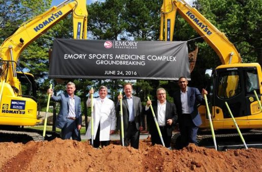 The Atlanta Hawks & Emory Healthcare Break Ground on the Emory Sports Medicine Complex
