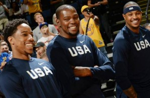 Road To Rio: Team USA Defeated China (107-57) Last Night at Oracle Arena (Video)