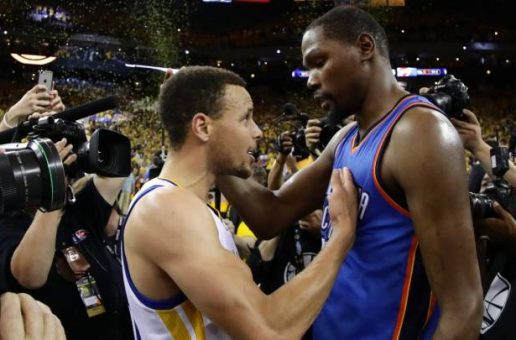 Tell Me When To Go: Kevin Durant Is Headed To The Golden State Warriors On A 2 Year $54.3 Million Dollar Deal