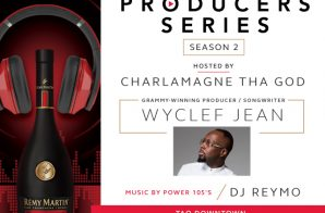 Wyclef Jean To Headline RÉMY MARTIN Producer Competition (NYC)