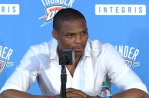 I'm The Captain Now: Russell Westbrook Signs a 3 Year/ $85 Million Dollar Extension with the Oklahoma City Thunder