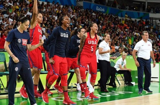 #Rio2016: #USABWNT Defeated France (86-67) and will Face Spain For The Gold Medal On Sunday