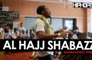 Al-Hajj Shabazz of The Pittsburgh Steelers Inspirational Speech at Sharrif Floyd's Football Camp In Philly