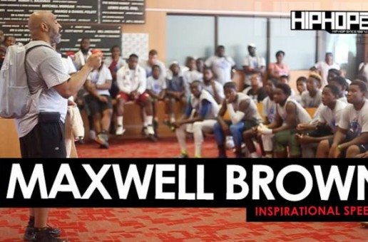 Maxwell Brown Motivational Speech at Sharrif Floyd's Football Camp in Philly
