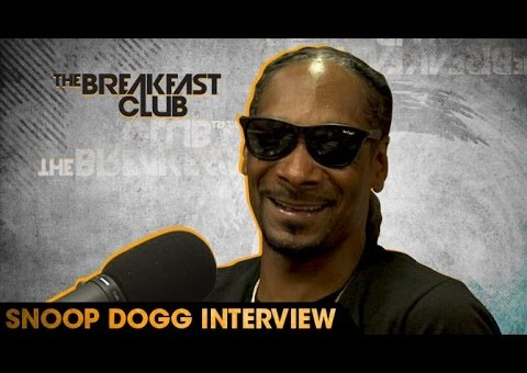 Snoop Dogg Talks Coolaid Album, Ending Beef W/ Suge Knight, Show W/ Martha Stewart & More W/ The Breakfast Club (Video)