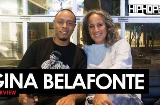 "Gina Belafonte Talks Her Father Harry Belafonte's Legacy, ""Many Rivers Festival"" Ft. Carlos Santana, T.I., Common & Others, Sanfoka.org & More with HHS1987 (Video)"