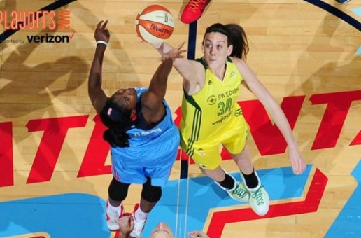 The Atlanta Dream & Seattle Storm Will Meet Tonight in 2016 WNBA Playoff Action at Georgia Tech's McCamish Pavilion