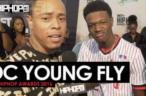DC Young Fly Talks 'Almost Christmas', 'Digital Lives Matter' and More on the 2016 BET Hip Hop Awards Green Carpet with HHS1987 (Video)