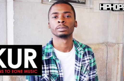 Kur Signs His Record Deal with eOne Music (HHS1987 Exclusive Shot by Rick Dange)