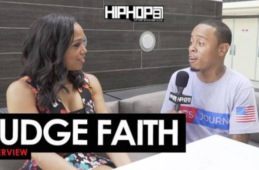 Judge Faith Talks Her Show 'Judge Faith', Colin Kaepernick, Yung Joc, Black Lives Matter & More with HHS1987 (Video)
