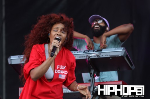 SZA Hits the Rocky Stage During Day One of Budweiser's 2016 Made in America Festival (Photos & Video)