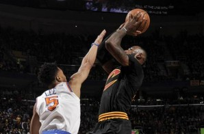 Lebron Notches a Triple Double on Cavs Ring Date as the Cavaliers Defeated the New York Knicks (117-88) (Video)