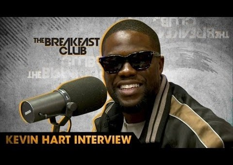 "Kevin Hart Talks ""What Now?"", Being Highest Paid Comedian, Walk Of Fame & More On The Breakfast Club (Video)"