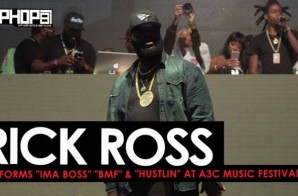"Rick Ross Performs ""Ima Boss"" ""BMF"" & ""Hustlin"" at the 2016 A3C Music Festival (Video) (Shot by Brian Da Director)"