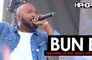 """Bun B Performs """"Trap or Die"""", """"Big Pimpin"""" & More at the 2016 A3C Music Festival (Video) (Shot by Danny Digital)"""